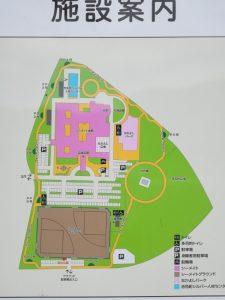総合福祉施設の案内図