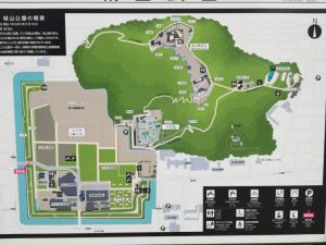 公園の案内図